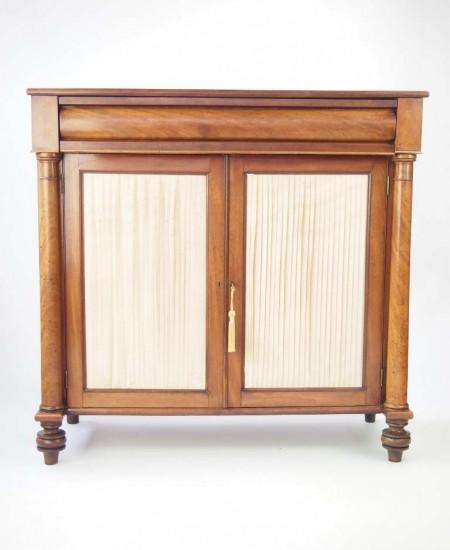 Regency Mahogany Side Cabinet