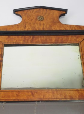 Antique Biedermeier Mirror
