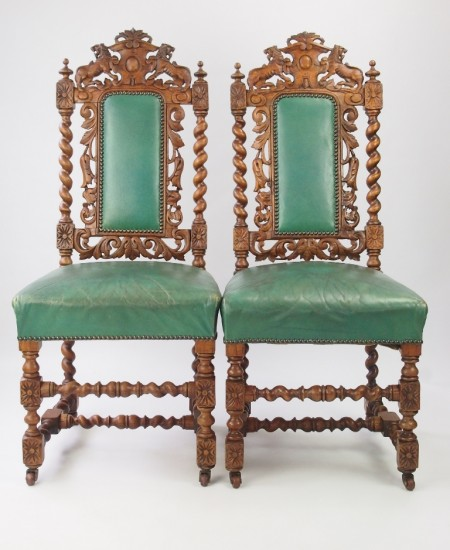 Antique Gothic Revival Chairs