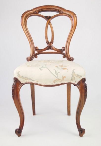 Antique Balloon Back Chair
