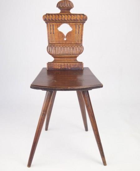Antique Georgian Hall Chair