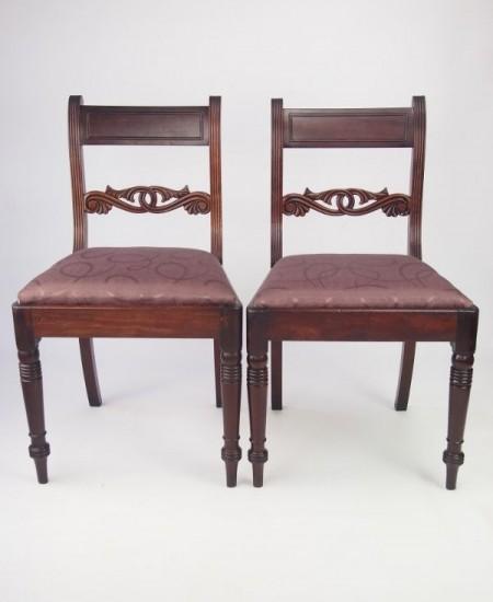 Pair Regency Chairs