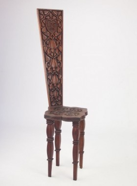 Antique Welsh Spinning Chair