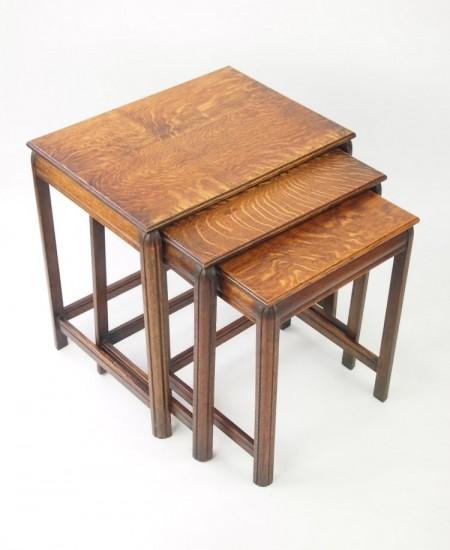 Vintage Nest Oak Tables