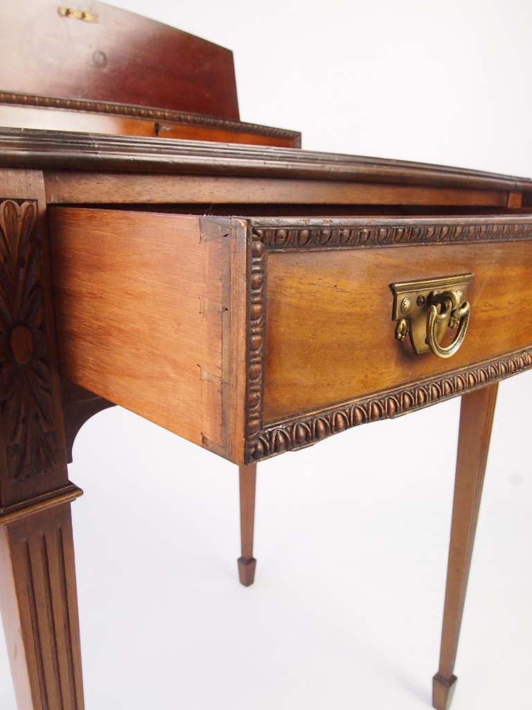 Small Antique Mahogany Ladys Writing Desk