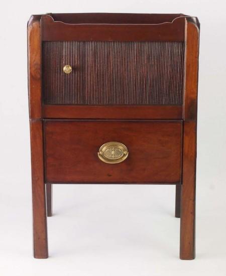 Antique Georgian Bedside Cabinet