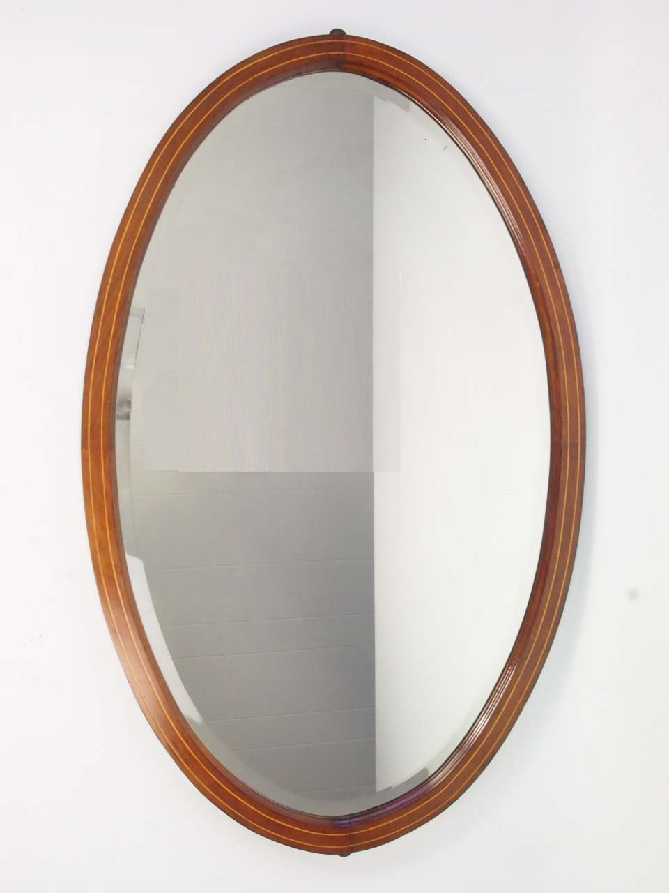 large edwardian mahogany oval mirror overmantle mirror. Black Bedroom Furniture Sets. Home Design Ideas
