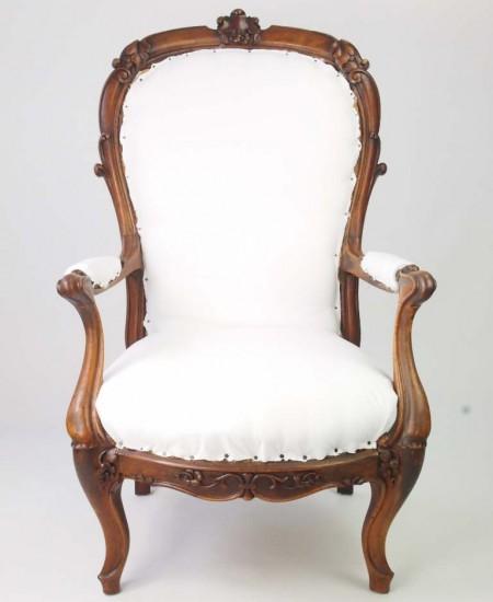 Antique Victorian Armchair