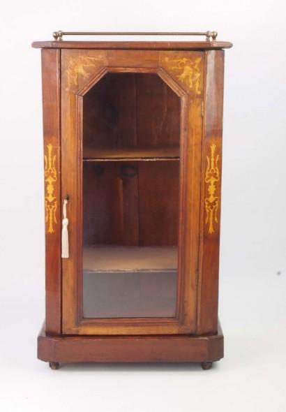 Antique Victorian Walnut Bookcase