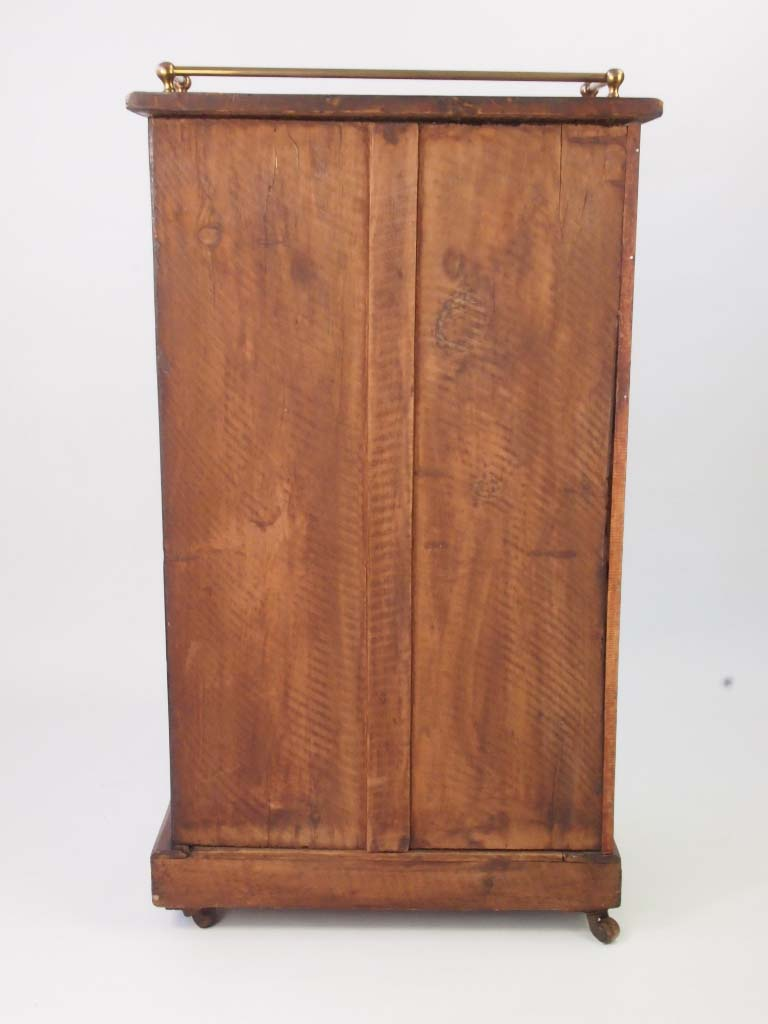 Victorian Furniture For Sale >> Antique Victorian Walnut Bookcase - Pier Cabinet For Sale