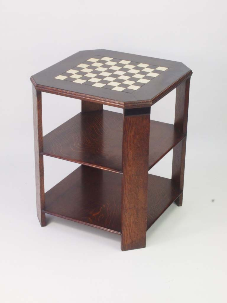 Superb Art Deco Chess Table Art Deco Oak Coffee Table For Sale Ncnpc Chair Design For Home Ncnpcorg