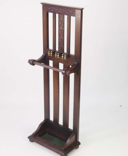 Antique Snooker Cue Stand