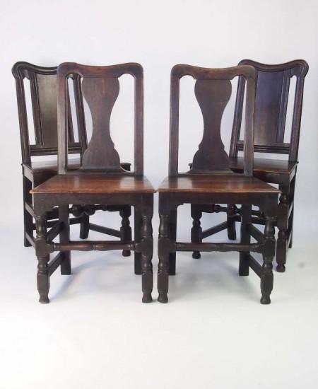 Harlequin Set 4 Victorian Chairs