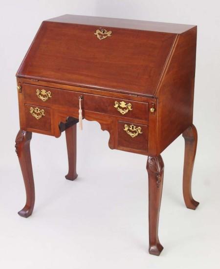Antique Victorian Mahogany Bureau