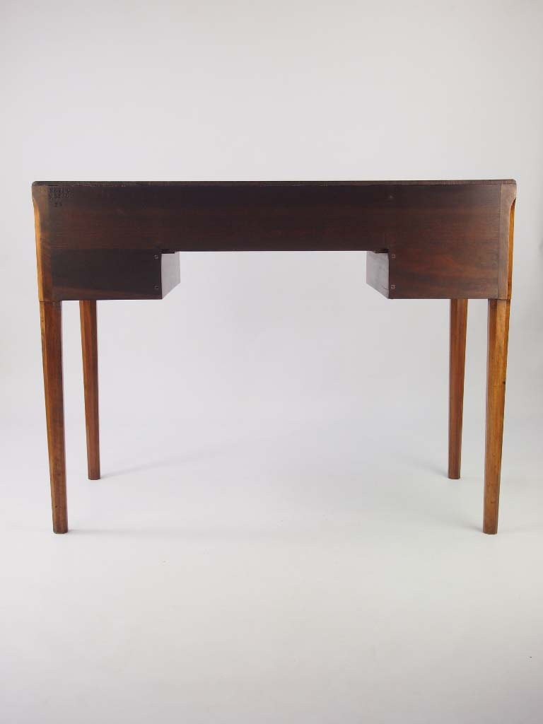 Small Art Deco Desk In Walnut For Sale