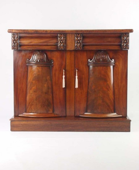 Antique Victorian Mahogany Sideboard