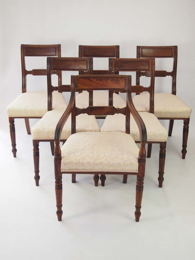antique dining chairs for sale set 6 antique regency mahogany dining chairs for 7471