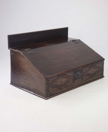 Antique Oak Bilble Box