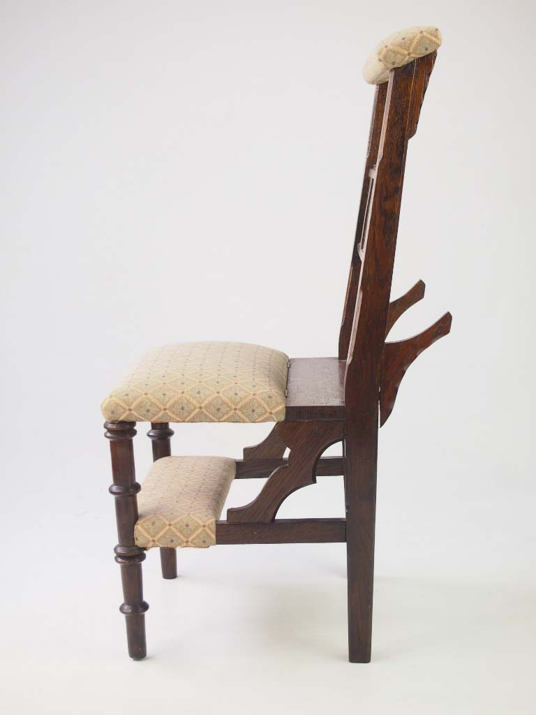 Victorian Metamorphic Prayer Chair For Sale
