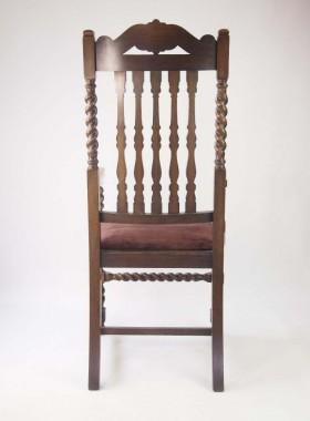 Vintage Oak Open Armchair