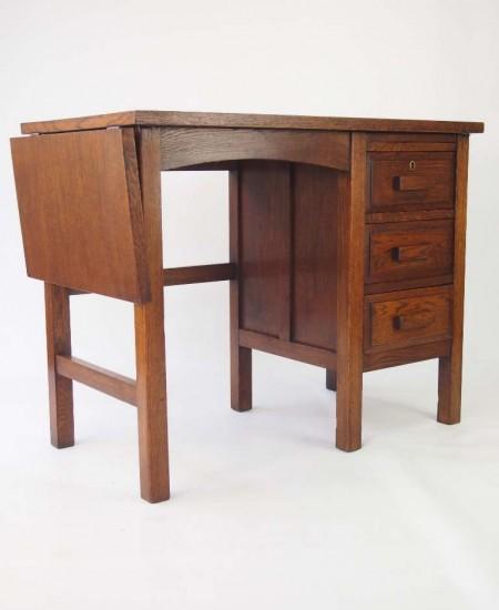 Vintage Oak Desk Circa 1920s