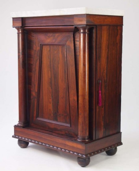 Victorian Rosewood Side Cabinet
