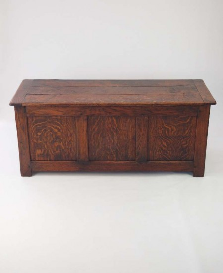 Edwardian Oak Blanket Box