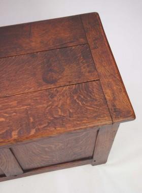 Edwardian Oak Blanket Box
