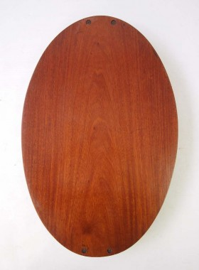 Antique Edwardian Mahogany Tray