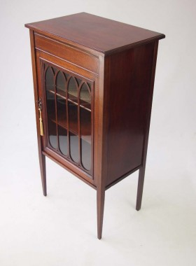 Antique Edwardian Music Cabinet
