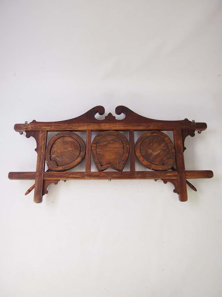 Antique Edwardian Hanging Hat Amp Coat Rack