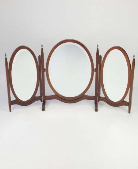 Vintage Tripple Dressing Table Mirror