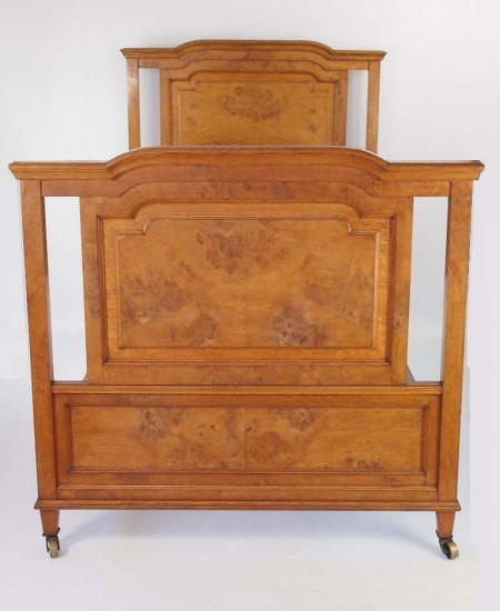 Edwardian Pollard Oak Bed