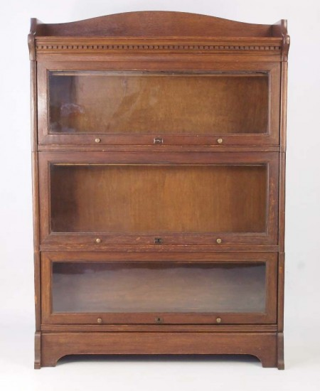 Vintage Oak Stacking Bookcase