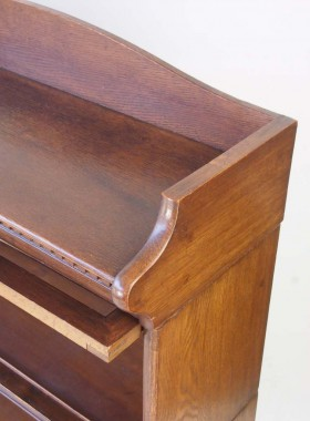 Vintage Oak Stacking Bookcase