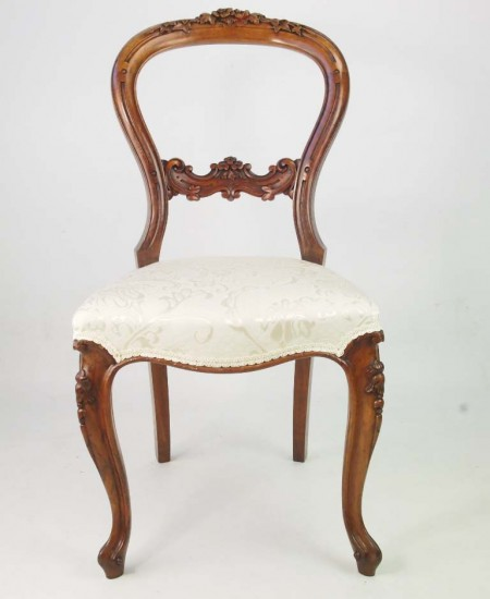 Antque Victorian Walnut Chair