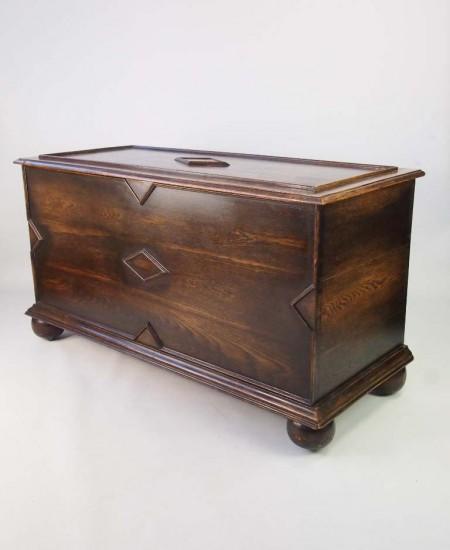 Vintage Oak Coffer