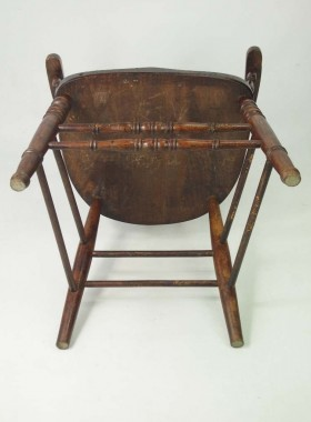 Antique Smokers Bow Chair
