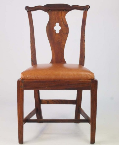 Antique Georian Elm Side Chair
