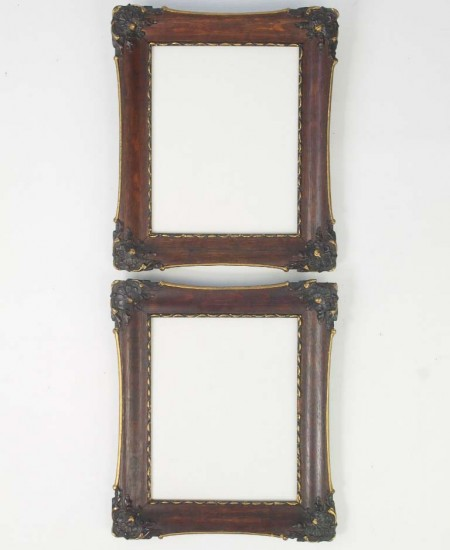 Pair Antique Photo Frames