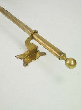 Antique Brass Curtain Rail