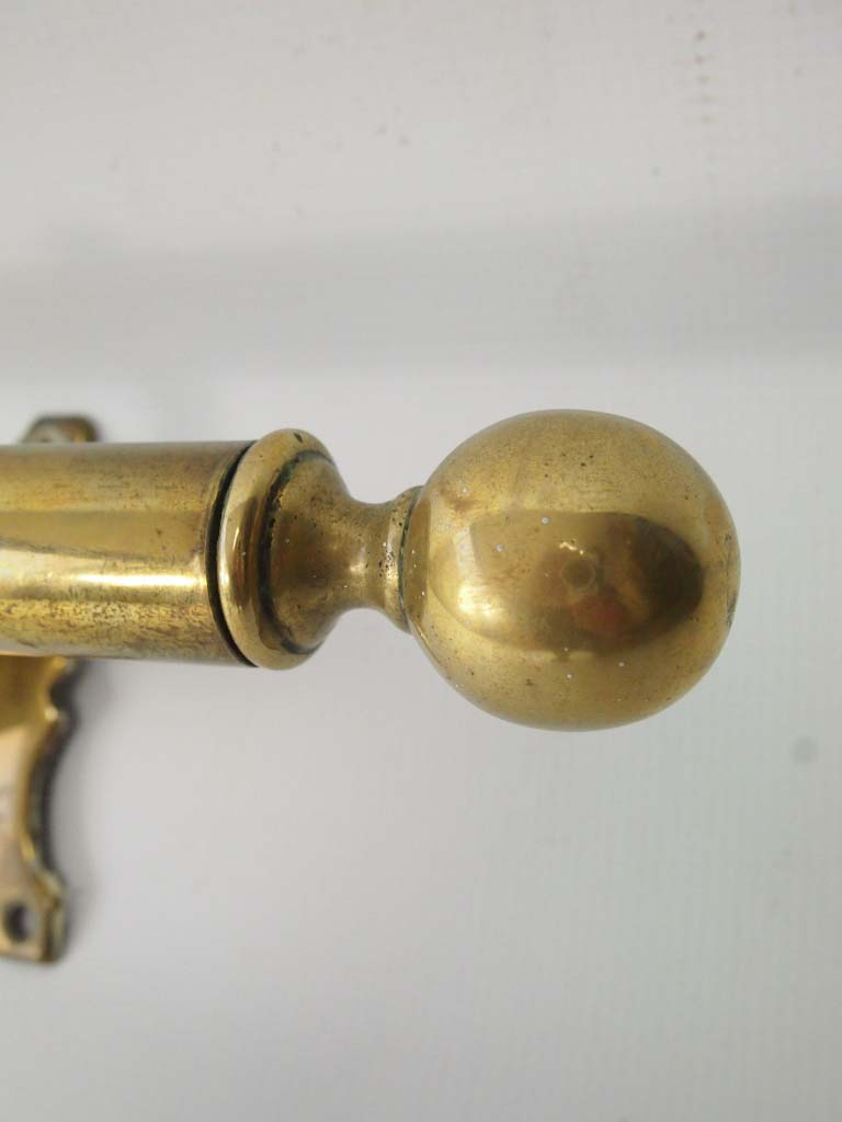 Antique Brass Curtain Pole Amp Brackets