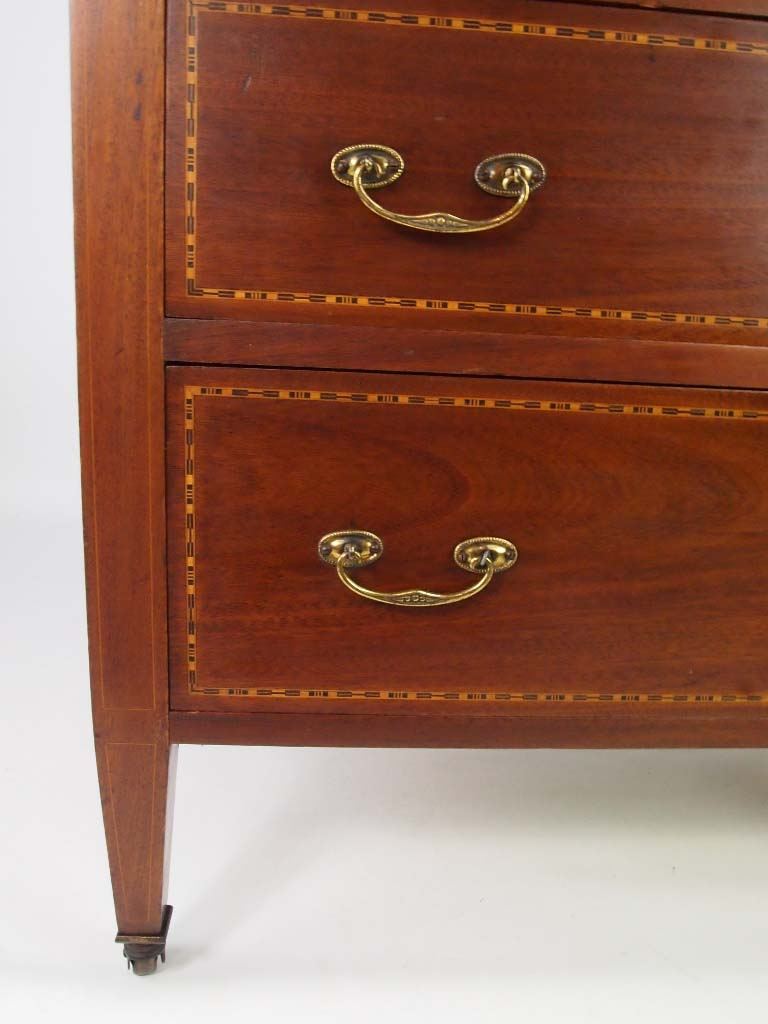 Small Antique Edwardian Chest Of Drawers