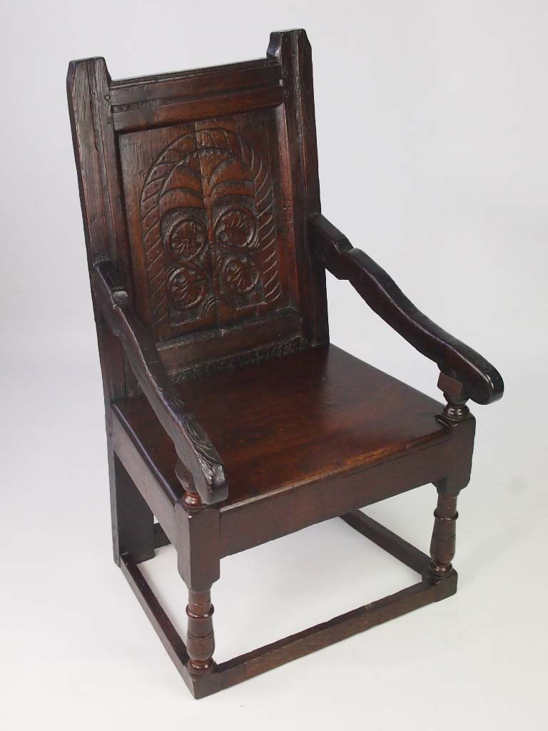 Oak Wainscot Chair 17th Century Amp Later