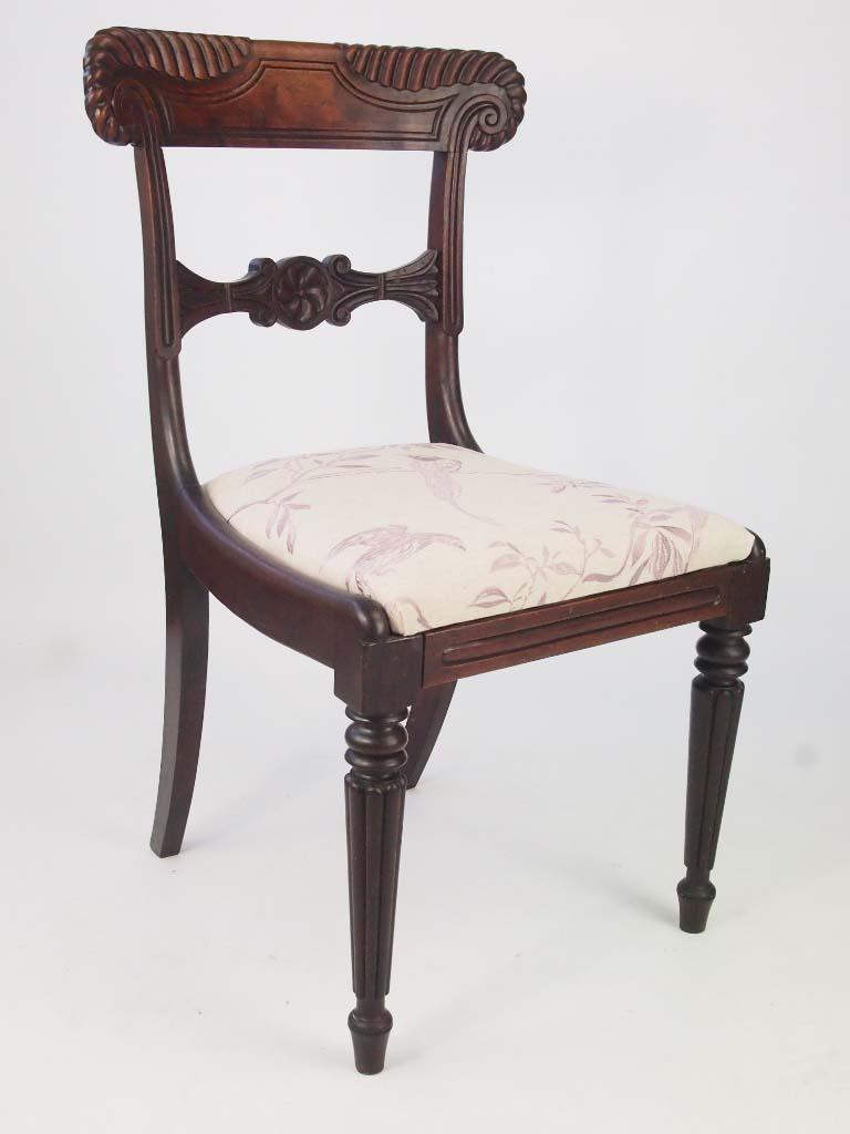 Antique William Iv Rosewood Chair