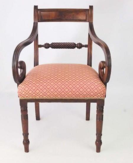 Antique Regency Trafalgar Chair