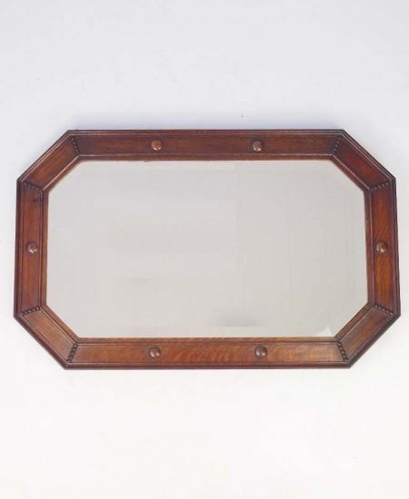 Vintage Oak Mirror