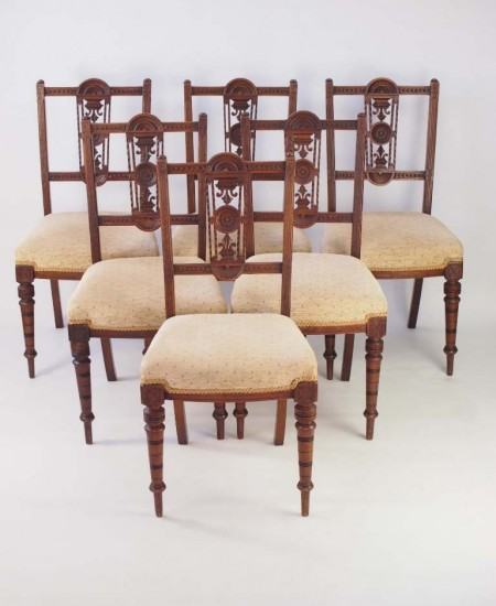 Set 6 Edwardian Dining Chairs