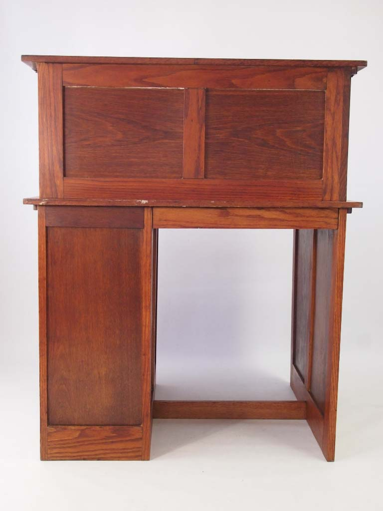 Small Oak Roll Top Desk