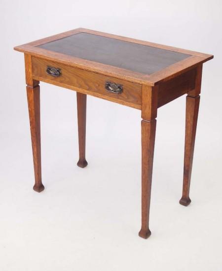 Edwardian Arts Crafts Oak Desk